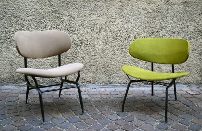 50's chairs of Italian production